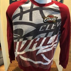 Men's small CLEVELAND Cavaliers sweatshirt
